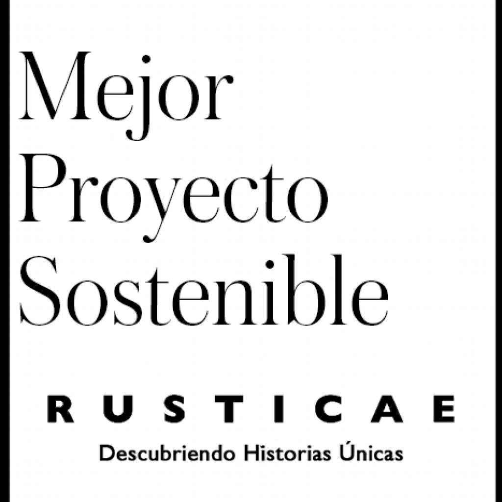 Premio Rusticae Mejor Hotel Sostenible